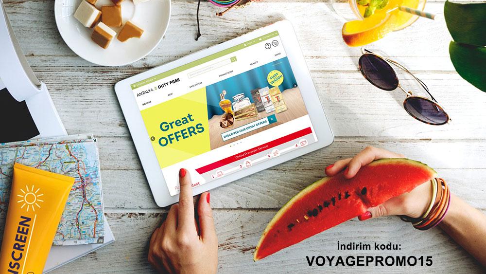 Antalya Duty Free Alışverişlerinizde %15 İndirim Ayrıcalığı