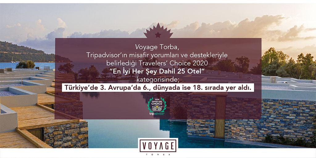 Voyage Torba Travelers' Choice 2020