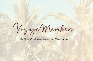 Voyage Hotels'ten Voyage Members Program