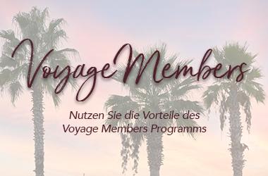 Das Voyage Members Programm der Voyage Hotels