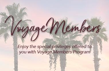Voyage Hotels' Voyage Members Program